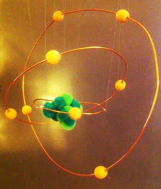 Model of a neon atom.