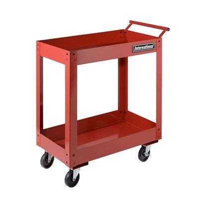 International UCE-2700RD Two-Tray Utility Cart