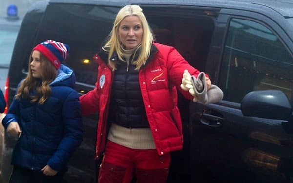 Princess Ingrid and crown Princess Mette Marit