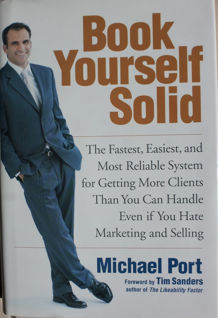 Great book for consultants, business coaches and people who sell themselves!