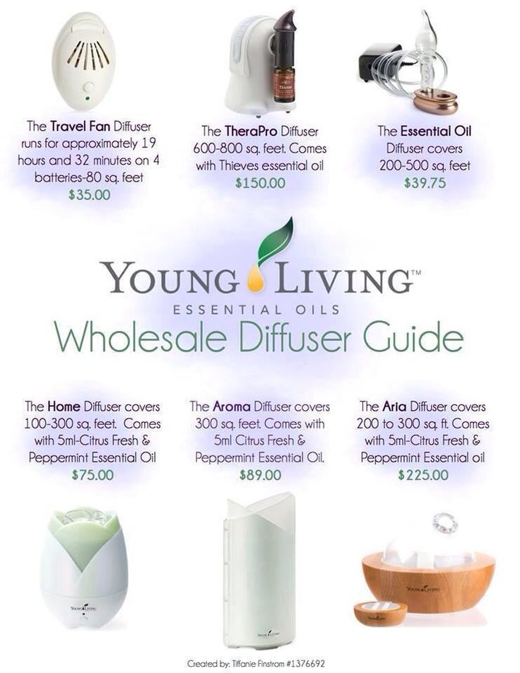 Yl Diffuser Comparison >> Young Living Diffuser Guide | Young Living Essential Oils #1325436 | Pinterest | Young Living ...
