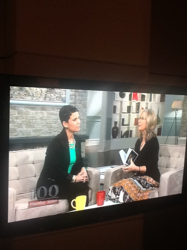 Sharing pages from my memoir with Ms.Moira on 100 Huntley Street