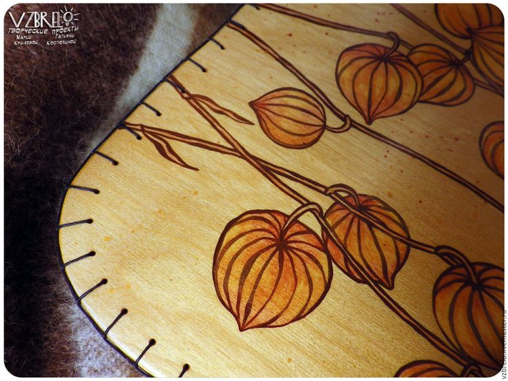 """Купить Столик-поднос """"Физалис"""" - vzbrelo, взбрело, столик, стол, для ноутбука, для рисования, завтрак в постель"""