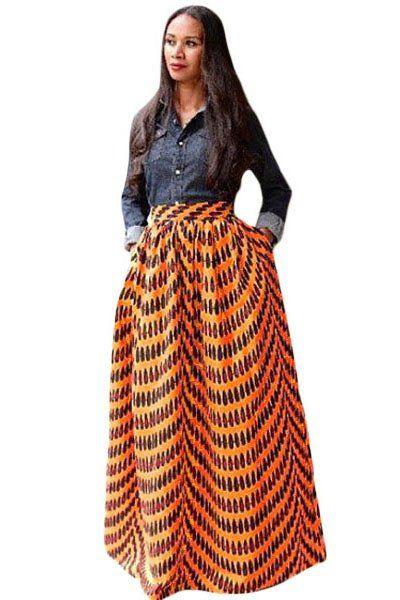 les 25 meilleures id es de la cat gorie jupe longue taille haute sur pinterest taille plus. Black Bedroom Furniture Sets. Home Design Ideas