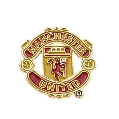 Manchester United Man Utd Club Crest Logo Lapel Pin Badge - Official