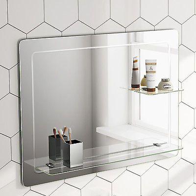1000 ideas about horizontal mirrors on pinterest mirror - Large horizontal bathroom mirrors ...