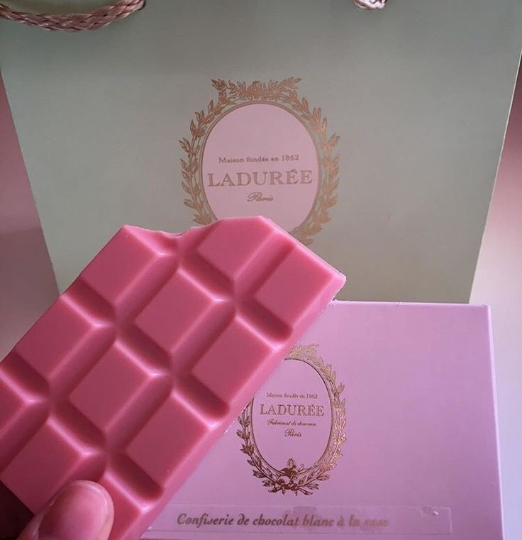 Pink Chocolate...MMm YUM
