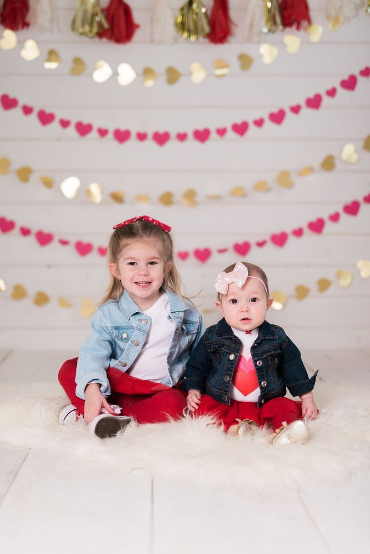 Valentine's Day Photo Shoot-valentine's day-toddler girl fashion-mini session-vday-etsy shop-denim jackets for toddlers #valentinesday