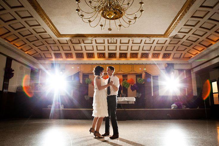 Polkaholics wedding invitations