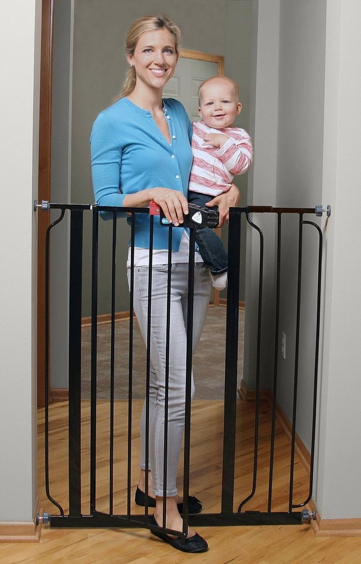 Regalo Deluxe Easy Step Extra Tall Walk Thru Baby Pet Child Safety Gate Black *** You can find more details by visiting the image link. (This is an affiliate link and I receive a commission for the sales) #Pets