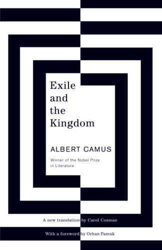Exile and the Kingdom: author Albert Camus: cover design by Helen YentusCovers Book, Book Covers Design, Beautiful Book, Black And White, Helen Yentus, Graphics Design, Random House, Albert Camus, Judges Book