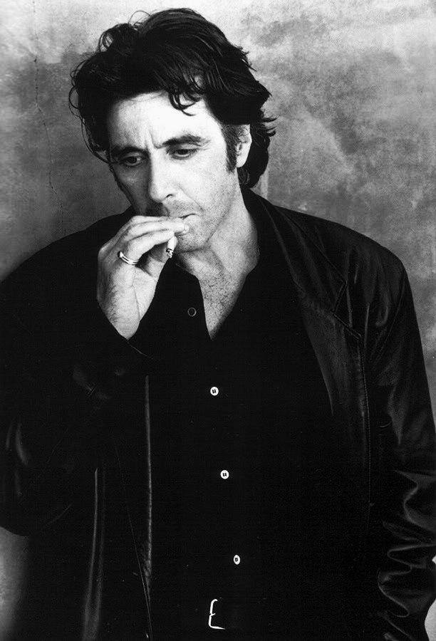 Al Pacino —Photographed by Greg Gorman