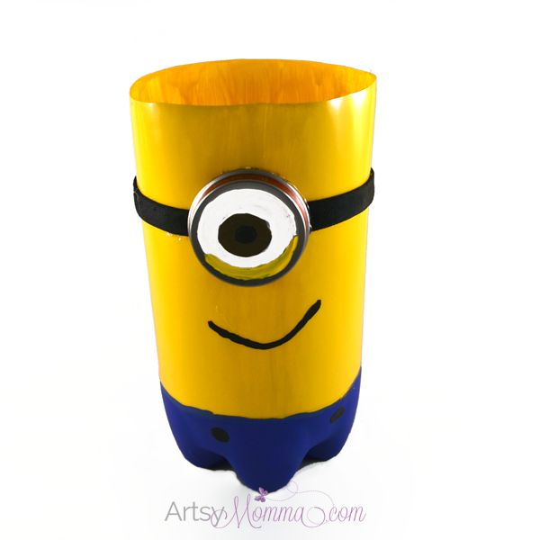 1000 ideas about minion craft on pinterest crafting for Plastic soda bottle crafts