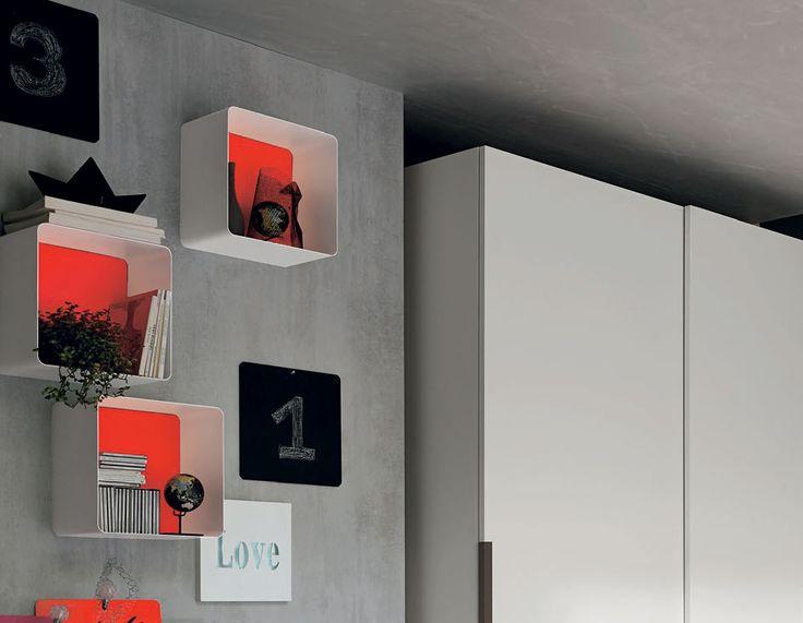 Ciko: il contenitore sospeso personalizzazbile in molti colori per addattarsi al mood della stanza   gruppotomasella.it