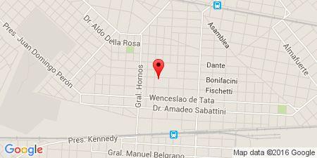Google Map of Bonifacini 4778, caseros, buenos aires