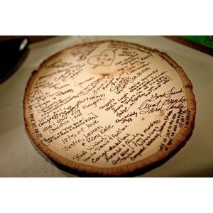Charming Instead Of A Guest Book This Would Be A Great Idea. Rustic Country  WeddingsWedding ...