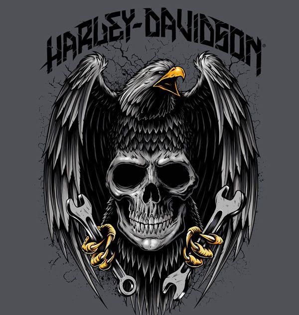 17 Mejores Ideas Sobre Harley Davidson Tattoos En