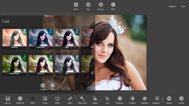 KVADPhoto+ Pro // is a photo editing app with a full feature set. This a gives you more than preselected filters; it gives you a full range professional grade editing and adjustment options, along with effects, frames, and plenty more. I love editing photos in this app.