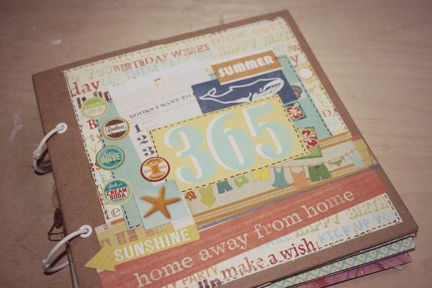 Ручная работа Альбом путешествий 365