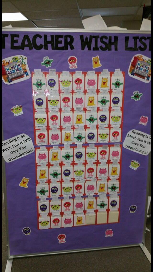 Classroom Wish List Ideas ~ Best pta images on pinterest book fairs bookshelf