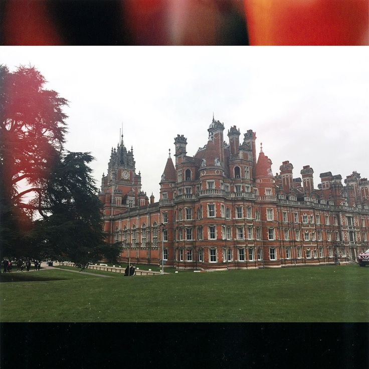 The Royal Holloway University (one of the best in the UK)