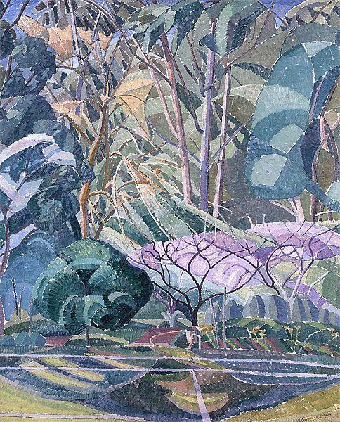 Grace Cossington Smith - Trees, 1927