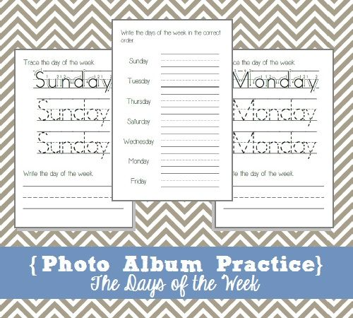 1000+ images about English days of the week on Pinterest ...