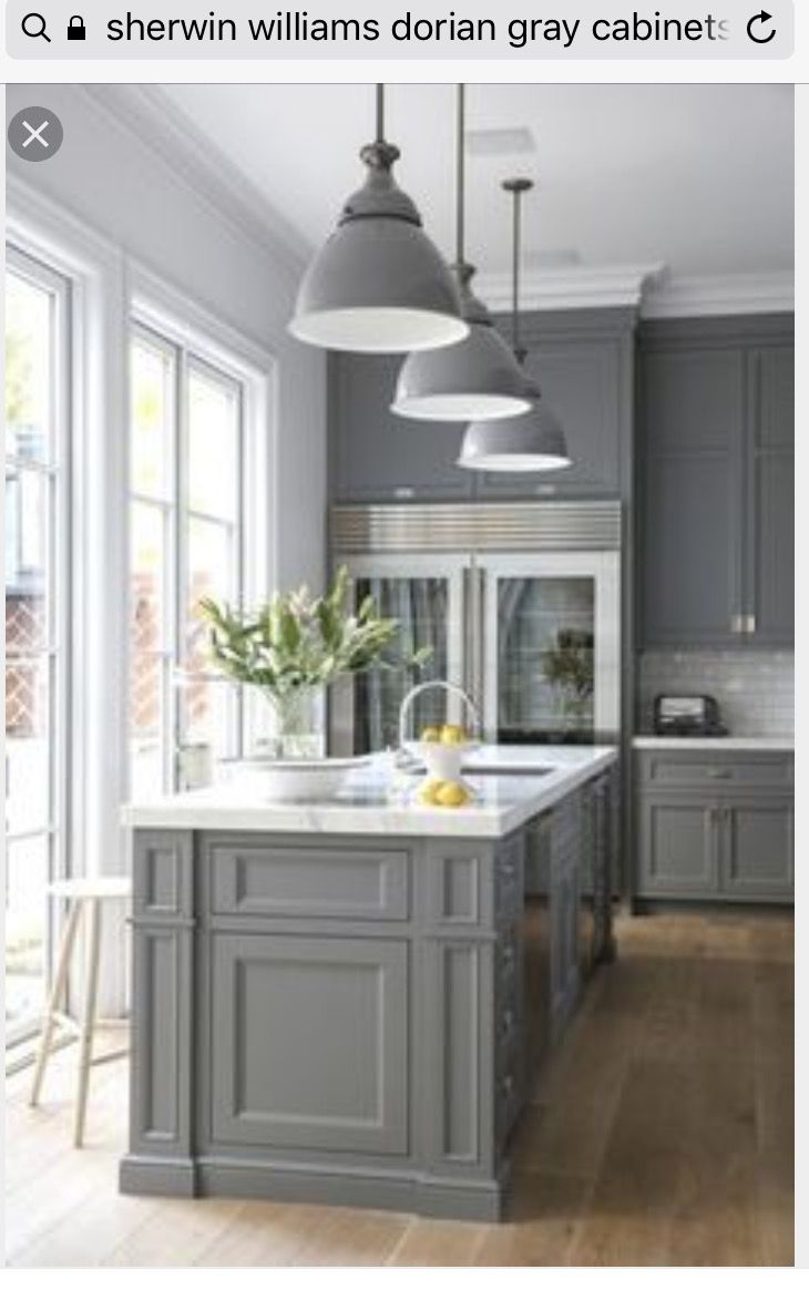Kitchen Cabinet Makeovers, Gray Kitchen Cabinets, Grey Kitchens, House  Ideas, Decor,