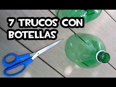 7 Trucos Con Botellas de Plástico | Huerto y Jardin 🔝