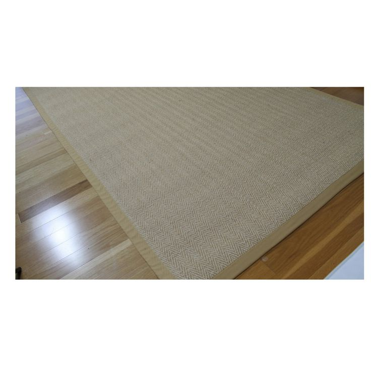 A1 Home Collections Sisal Power-Loom Area Rug - A1NFR011-A