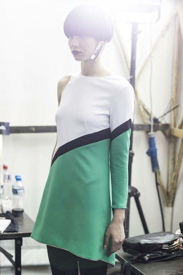 """DeStijl"" haute couture collection for MadWalk 2015 Konstantinos Melisby Laskos"
