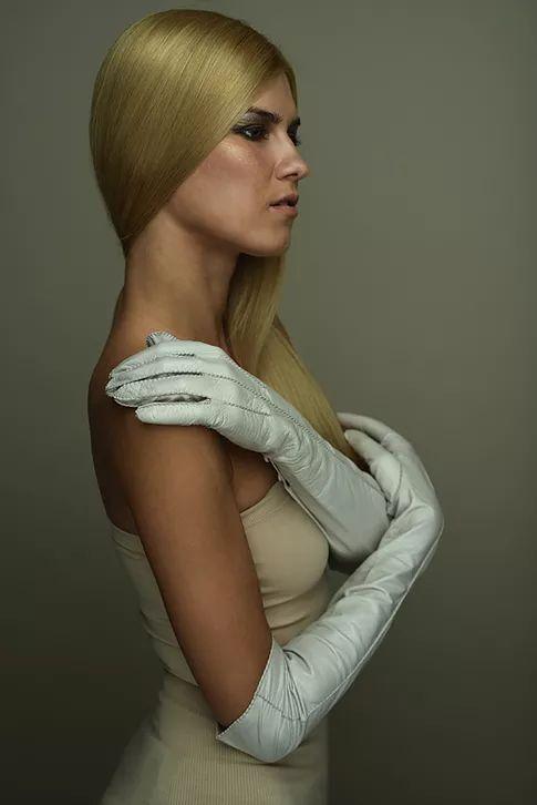 Gloves and accessories:Riina O Photographer: Mike Mottus MUA:Jessica Cheetham Model: Emelie Kelman (BAME Models), Signija LudborźaAll gloves and ac