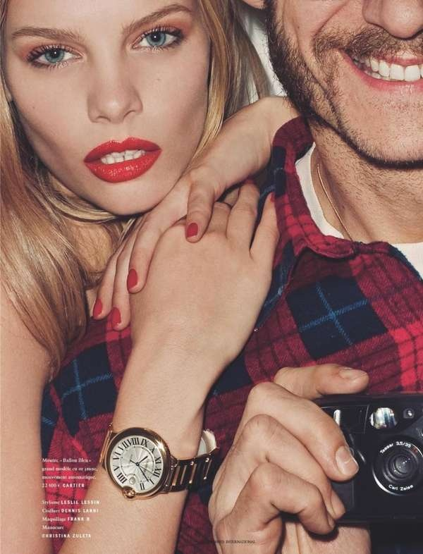 Provocative Watch Editorials - Terry Richardson Has a Scandalous Time in Vogue Hommes (GALLERY)