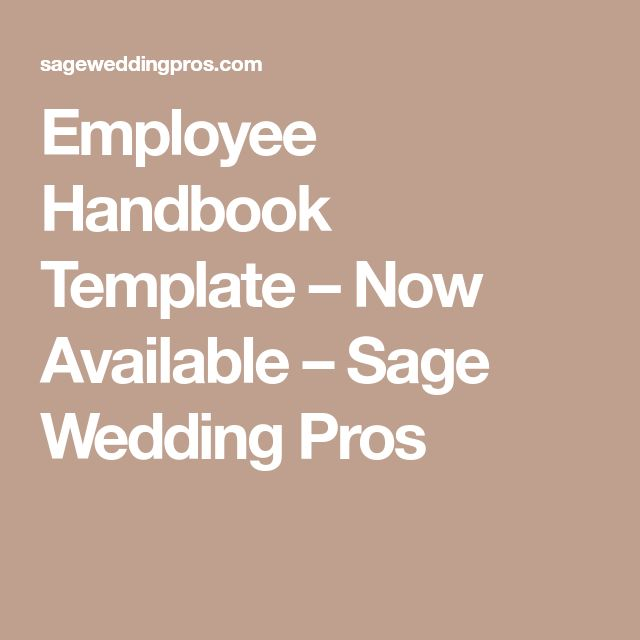 25+ trending Employee handbook ideas on Pinterest What is brand - employee manual template