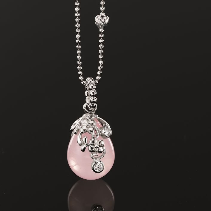 Blossom Copenhagen pink pendant