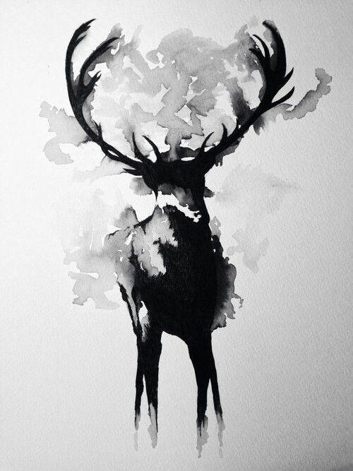Fantastic black and white art.