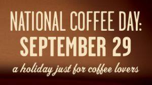 FREE Coffee on National Coffee Day 2013 (September 29th)
