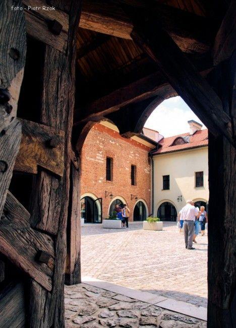 Cracow - Tyniec, Poland / Kraków, Malopolska, Kraków - Opactwo Benedyktynów w Tyńcu, POLSKA