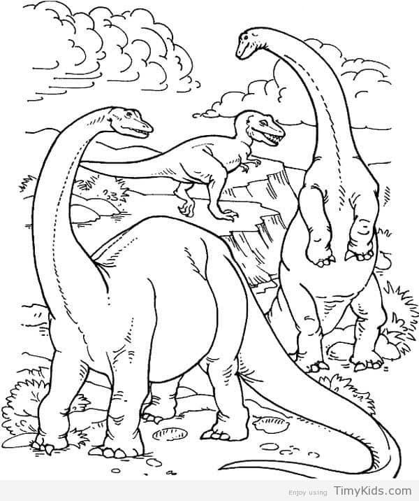 44 Top Coloring Pages Of Real Dinosaurs Images & Pictures In HD