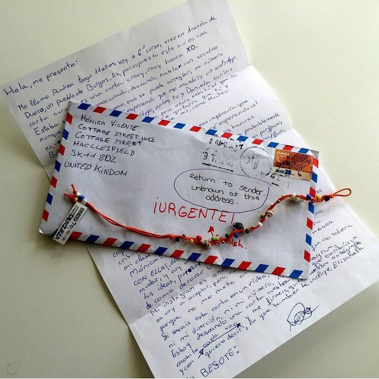 Ha llegado vuestra PRIMERA CARTA!!! Con regalito y todo mil gracias Andrea!!! No sabéis la ilusión que me ha hecho abrirla y me muero de ganas de que la lean esta tarde #thecrazyhaacks.  OS CUENTO QUE HA HABIDO UN PROBLEMA: Resulta que en el lugar que recibimos las cartas la dirección que os dí justo cambiaron de secretaria y han devuelto 5-6 cartas vuestras por dirección desconocida. La mato!! Justo hemos interceptado esta hoy cuando estaban a punto de devolverla mirad que en el sobre ya…