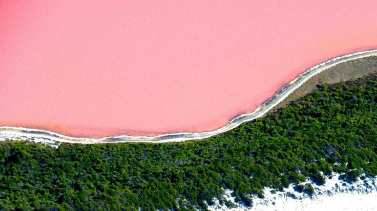 Pink Lake Western Australia