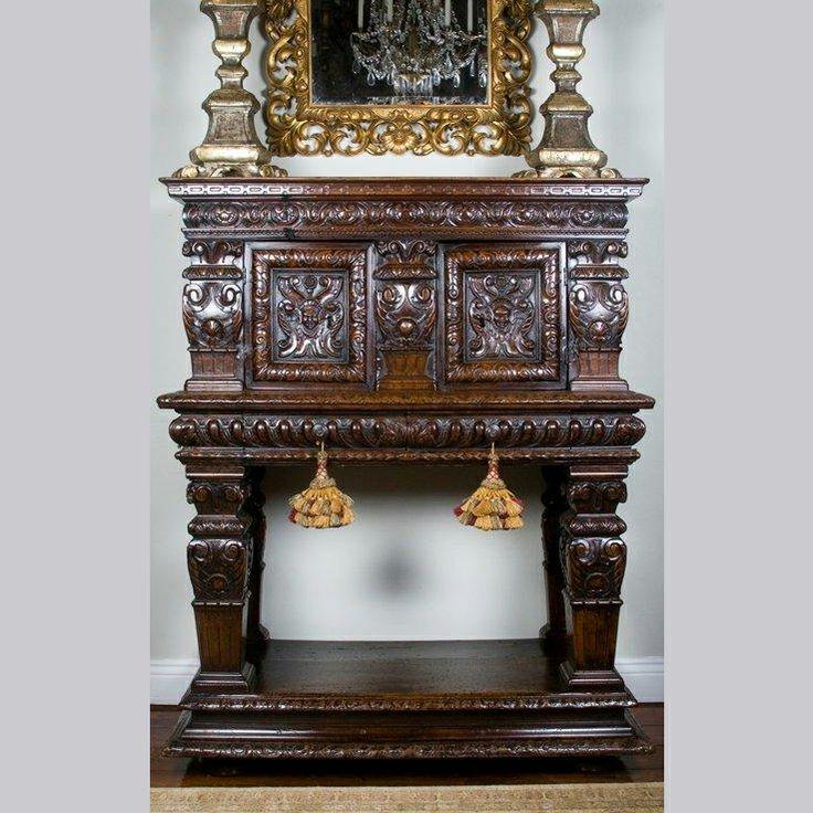 Italian Renaissance Walnut Cabinet