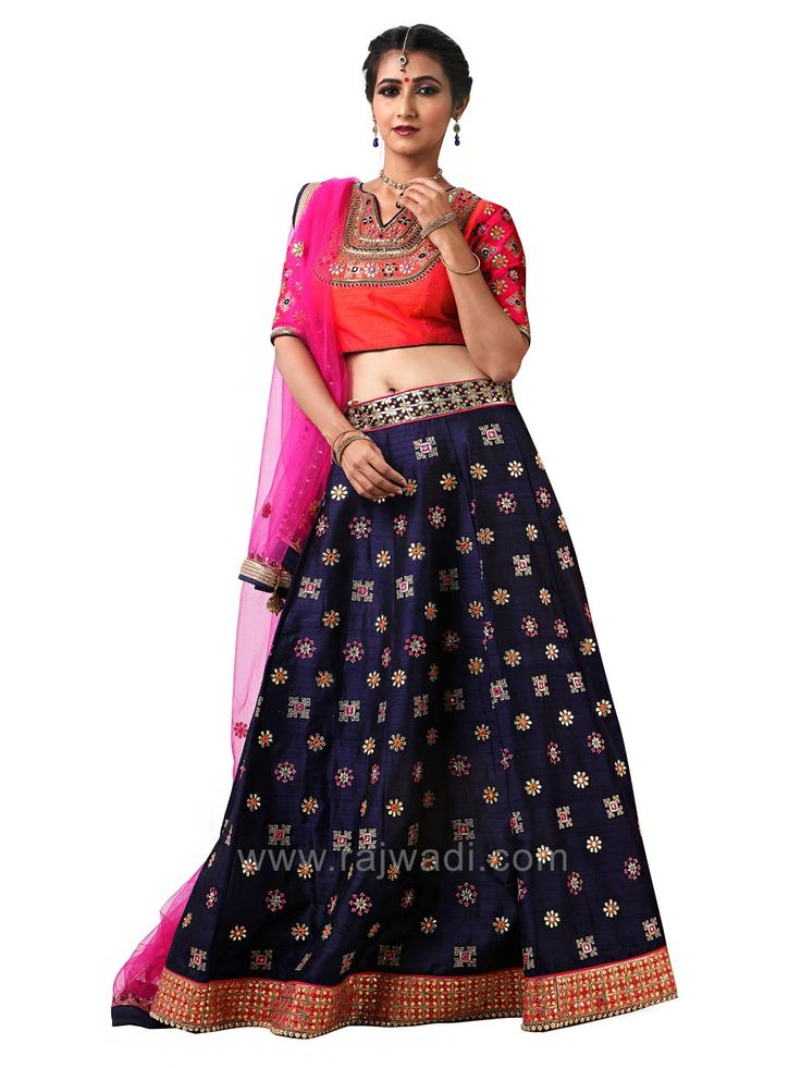 Wedding Raw Silk Embroidered Choli Suit #rajwadi #cholisuit #readycholi #lehengas #embroidered #FeelRoyal #bridal #colorful