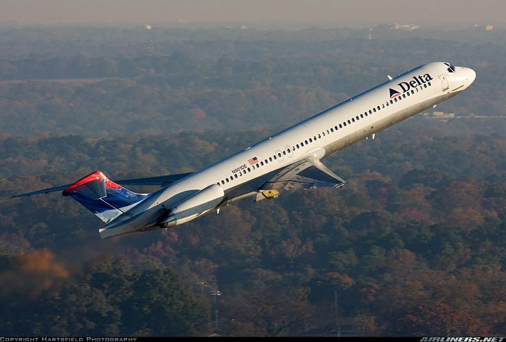 Delta Airlines McDonald Douglas MD-80