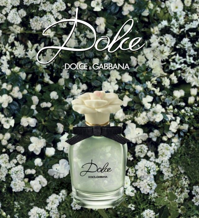 Dolce & Gabbana Dolce Perfume: Sweet-Smelling explosion of Neroli Leaves and Papaya Flower dissipating into a Floral Bouquet as the core of the fragrance emerges. Also Eau De Toilette: Dolce Floral Drops.