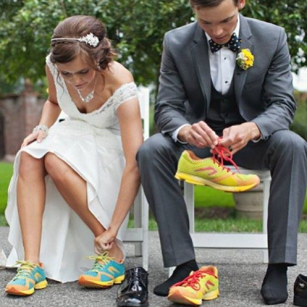A couple that runs together stays together.