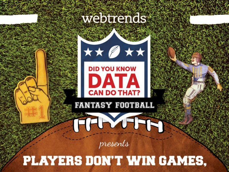 Fantasy Football: Players Don't Win Games, Data Does (Or Does It?)