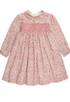 Arabella baby dress in pink floral online at Trotters