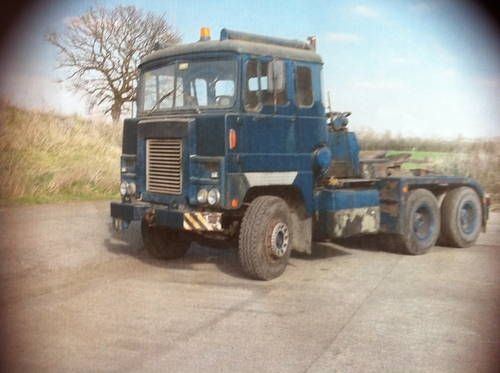 1975 65 ton Six Wheel Scammell Crusader with Winch