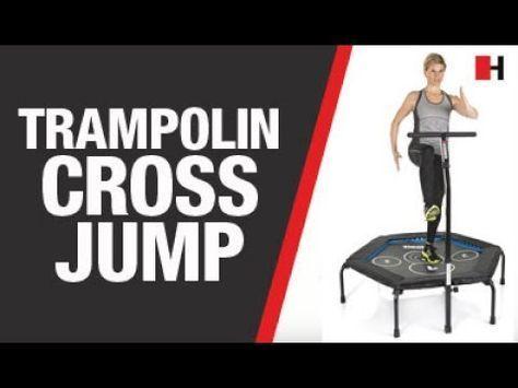 HAMMER Fitness-Trampolin Cross Jump - YouTube